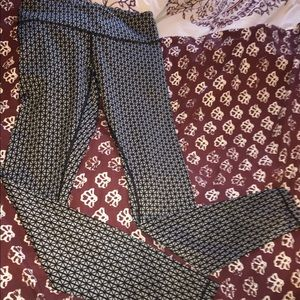 RARE patterned lululemon leggings size 4